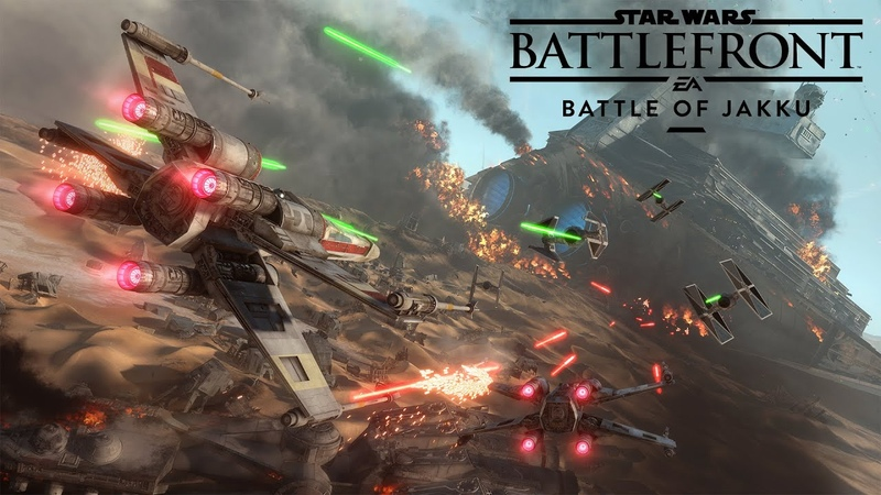 Star Wars Battlefront Battle of Jakku Gameplay Trailer