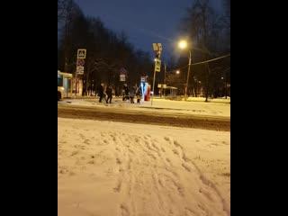 Дед Мороз в Петергофе
