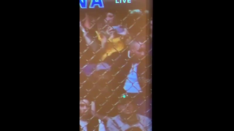 @MeganOlivi reaction to her husband Joe Benavidez getting KO'