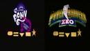 MLP Equestria Girls Power Rangers Zeo Style Comparison Video