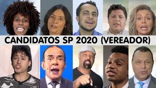 Horário Eleitoral: candidatos a vereador - São Paulo 2020 (coletânea de inserções - SP)
