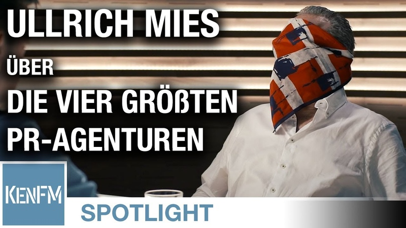 Ullrich Mies über die vier größten PR Agenturen der Bewusstseinsindustrie