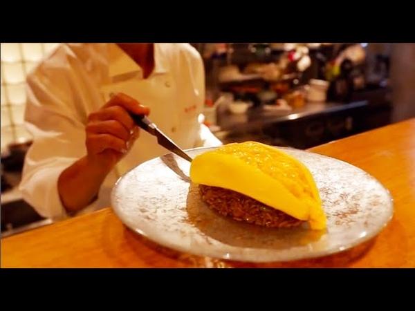 Greatest Omurice Artist,Omelet Rice - Kyoto Japan