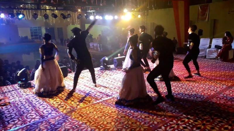 Dance Kabila at Localturnon 2019 New Year party in Noida