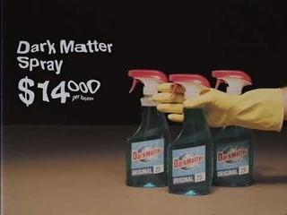 ON SALE at Omega Mart! Dark Matter Spray