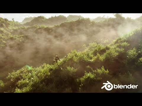 Create a Realistic Forest in 30 Minutes Blender 2 8 Tutorial