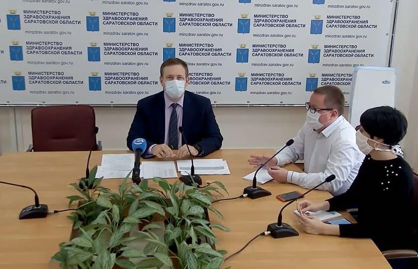 Среди пациентов, болеющих коронавирусной инфекцией в Саратовской области, десять уже подключены к аппаратам ИВЛ