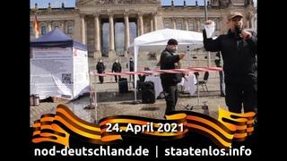 Video für den 24. April 2021 - solidarisieren, vernetzen & handeln für Freiheit & Weltfrieden