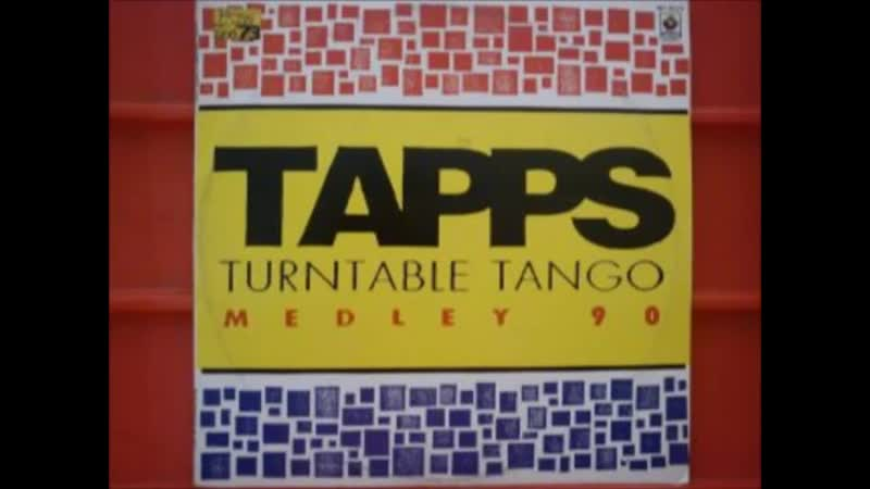6 131 00 D tapps ★ turntable tango ★ medley ★ 1990